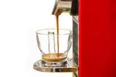 Maak een espresso Royalty-vrije Stock Fotografie