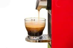 Maak een espresso Stock Fotografie