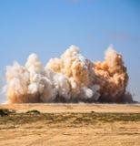 Maak en kristalmening van de ontploffing schoon royalty-vrije stock foto