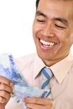 Maak geld stock foto