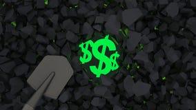 Maak Geld Royalty-vrije Stock Afbeelding