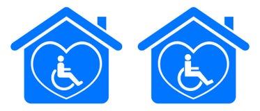 Maak huis onbruikbaar Stock Foto's