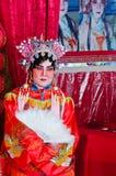 Maak omhoog als Chinese Opera Royalty-vrije Stock Afbeeldingen