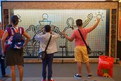 Maak tot het Uw Singapore Stock Afbeelding
