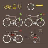 Maak uw fiets vast Stock Illustratie