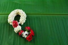 Maalai цветок в тайском традиционном стиле стоковая фотография rf
