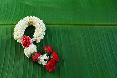 Maalai The flower in Thai Traditional Style Royalty Free Stock Photography