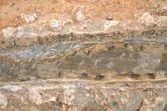 Maalde de Textuur van Rotsen Stock Fotografie
