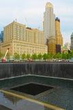 Maalde Nul, de Stad van New York, de V.S. Stock Fotografie