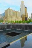 Maalde Nul, de Stad van New York, de V.S. Stock Afbeeldingen