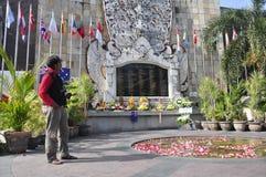 Maalde Nul Monument Bali stock afbeeldingen