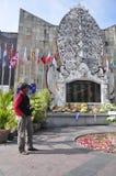 Maalde Nul Monument Bali royalty-vrije stock afbeeldingen