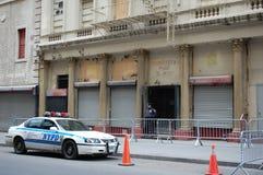 Maalde Nul Moskee, de Stad van New York Stock Foto
