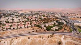 Maale Adumim City Aerial View