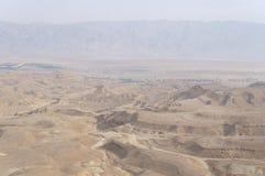 Maale Shaharut in Arava-woestijn Royalty-vrije Stock Afbeeldingen