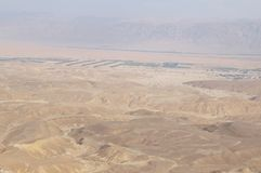 Maale Shaharut in Arava-Wüste Lizenzfreie Stockfotografie