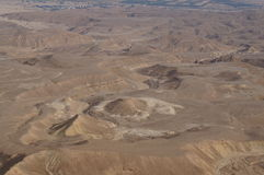 Maale Shaharut dans le désert d'Arava Photographie stock libre de droits