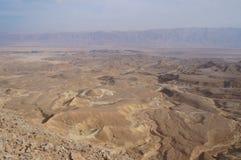 Maale Shaharut w Arava pustyni Obraz Stock