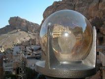 Maalula, Syrien, kloster- och kristenby Damascus 2004 royaltyfria bilder