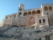 Maalula, Syrien, kloster- och kristenby Damascus 2004 arkivbilder