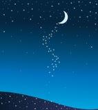 Maan stock illustratie