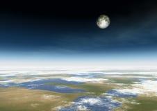 Maan Royalty-vrije Illustratie