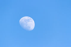 Maan en Hemel Stock Afbeeldingen