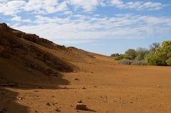 Maan Landschap Stock Afbeelding