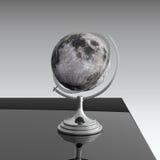 Maan op zwarte lijst Royalty-vrije Stock Afbeelding