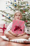 Mañana de la feliz Navidad Fotos de archivo