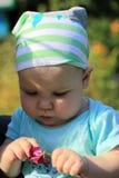 8-maanden baby Royalty-vrije Stock Afbeelding