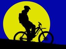 Maanlicht vector illustratie