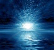 Maanlicht royalty-vrije illustratie