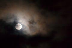 Maanlicht, bloedmaan Royalty-vrije Stock Afbeelding