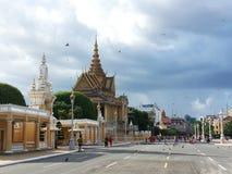 Maanlichtpaviljoen in Phnom Penh - Kambodja Royalty-vrije Stock Foto's