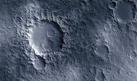 Maanoppervlakte Royalty-vrije Stock Afbeeldingen