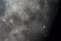 Maanoppervlakte stock afbeelding