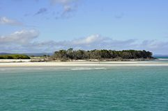 Maanpunt, Fraser Island stock fotografie