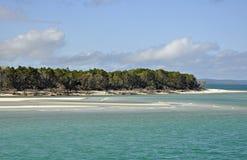 Maanpunt, Fraser Island royalty-vrije stock afbeeldingen