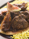 Maans Anjeer - Slow cooked Lamb with Fresh Figs Stock Photography
