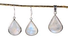 Maansteen Jewelery stock fotografie