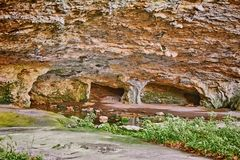 Maarata Cave in National Park Stock Images