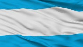 Maardu stadsflagga, Estland, Closeupsikt Vektor Illustrationer