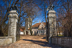 Maarjamae Castle in Tallinn Royalty Free Stock Image