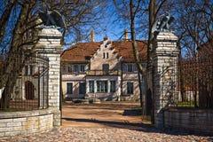 Maarjamae Castle in Tallinn Royalty Free Stock Image