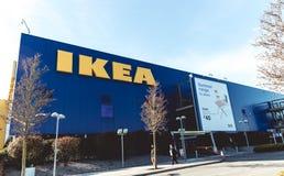 20 maart, 2018, Ballymun, de opslag van Dublin, Ierland - van IKEA Dublin Royalty-vrije Stock Afbeeldingen