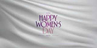 8 Maart De Dagviering van internationale Gelukkige Vrouwen Aanplakbord, Affiche, Sociale Media, Verhaal, Wensenkaart, Groetkaart, stock illustratie