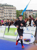Maart, 3de 2015 harmoniemarathon in Genève zwitserland Royalty-vrije Stock Fotografie