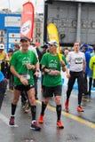 3 maart, de harmoniemarathon van 2015 in Genève zwitserland Stock Afbeelding