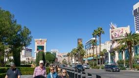 3 Maart 2019 - de Strook van Las Vegas, Nevada - van Las Vegas royalty-vrije stock fotografie